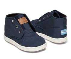 Tiny TOMS Navy Paseo Sneaker