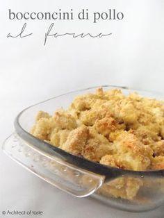 Bocconcini di pollo al forno   Architect of taste