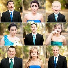 Check out 30 fun, creative photos to take with your bridal party! (Photo via Kristen Weaver)