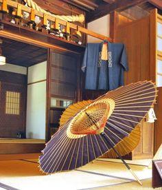 Wagasa (和傘), the traditional Japanese umbrella.