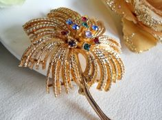 Vintage Sarah Coventry Harvest Wheat by JanesVintageJewels on Etsy, $20.00