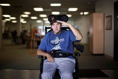 Inspirational photos and story of Rick Peralta's determination to recover from brain injury #TBI #veterans