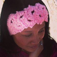 Items similar to Beautiful Floral Stitch Earwarmer / Headband / Pink / Customized order is Welcome on Etsy Ear Warmer Headband, Some Ideas, Everyday Outfits, Welcome, Hugs, Stitch, Crochet, Floral, Pink