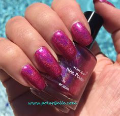 KB Shimmer Berried In The Sand Color4Nails exclusive nail polish