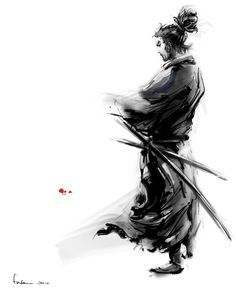this is too awesome warrior samurai Japanese Culture, Japanese Art, Samourai Tattoo, Ronin Samurai, Samurai Artwork, Samurai Drawing, Miyamoto Musashi, Art Chinois, Hero Arts