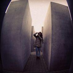 Holocaust-Mahnmal  Taken with GoPro on Nov 06 2014 in Berlin