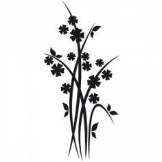 Sticker Fleurs de prés