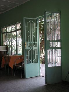 wonderful art deco doors!