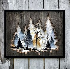 Wood artwork, wood wall art, painting on wood, art projects, diy Wood Crafts, Diy And Crafts, Arts And Crafts, Paper Crafts, Tree Crafts, Wood Projects, Woodworking Projects, Woodworking Lathe, Woodworking Machinery