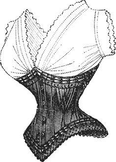 Vintage Ephemera: corsets