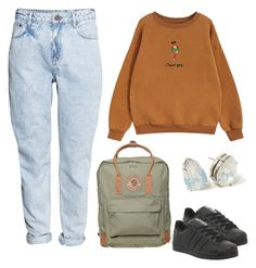 """cheer girl"" by y-a-h-e-l on Polyvore featuring H&M, Chicnova Fashion, Fjällräven and adidas"