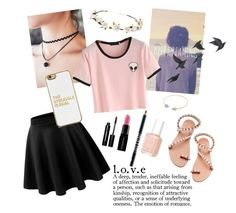 """""""Keep Dreaming"""" by jjdu ❤ liked on Polyvore featuring Cult Gaia, Bobbi Brown Cosmetics, Smashbox, Lord & Berry, Elina Linardaki, Essie, BaubleBar and Jayson Home"""