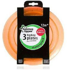 Tommee Tippee Feeding Plates Pack of 3 Orange Tommee Tippee http://www.amazon.co.uk/dp/B00K75DC44/ref=cm_sw_r_pi_dp_RJx4wb0JMD3VH