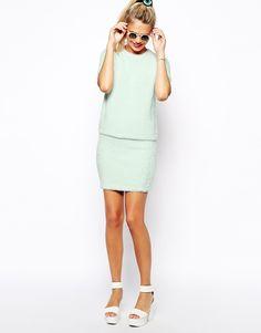 ASOS+Co-ord+Skirt+in+Fluffy+Knit