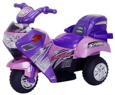 This cute pink princess motorcycle is ready to go for your kids to enjoy. Now your child can enjoy the...