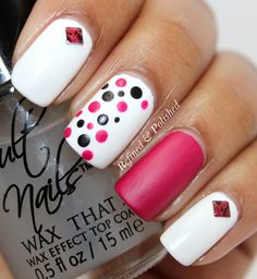 Busy Girl Nails Winter Challenge ~ White ~ Cult Nails Tempest - Refined & Polished