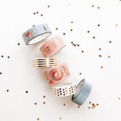 Apaixonada por essa seleção de washi tapes @beemine.shop