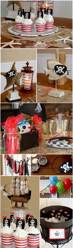 Super cute Pirate Party Details!