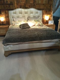 Bed in Leather Romeo and Juliette