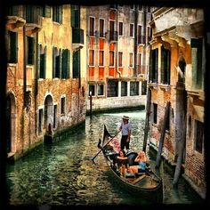 Venice Italy Canals<3