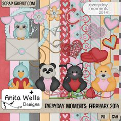 Everyday Moments: February 2014 by Anita W Designs