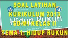 KUMPULAN SOAL KURIKULUM 2013 SD KELAS II SEMESTER 1 TEMA 1: HIDUP RUKUN FORMAT MICROSOFT WORD