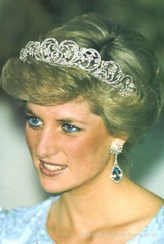 The Spencer family tiara has a history even more remarkable than Diana's. It's presently at the Diana Memorial Museum on the Spencer's Althorpe estate where Diana is interred.