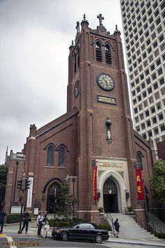 Antigua catedral de Santa María, Chinatown. SAN FRANCISCO, CA