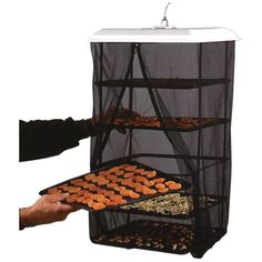 Amazon.com: Food Pantrie Solar Food Dehydrator - Hanging Dehydration System - Non-Electric, Eco Friendly, Natural Way To Air Dry Foods, Fruits, Vegetables, Herbs, Jerky & More. 5-Tray Dryer (1): Kitchen & Dining