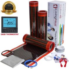 Under Laminate Heating systems carbon film element Underfloor Heating Mats, Electric Underfloor Heating, Carpet Flooring, Laminate Flooring, Vinyl Flooring, Service Design, Things That Bounce, Film, Movie