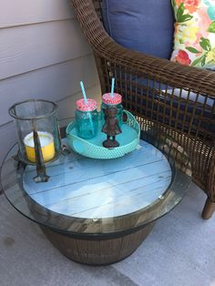 Simple Outdoor Table/City Girl is a Country Girl at Heart!