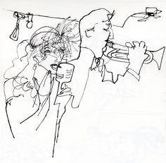 love these quick sketches by veronica lawlor