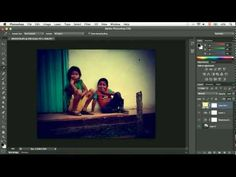 "Efecto ""Retro"" o ""Instagram"" con Photoshop"