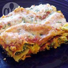 Spinach and Feta Lasagne @ allrecipes.com.au