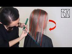 25 Chin Length Bob Hairstyles That Will Stun You in 2019 - Style My Hairs Bob Haircut Curly, Lob Haircut, Lob Hairstyle, Curly Bob, Asymmetrical Bob Haircuts, Short Bob Haircuts, Long Bob Hairstyles, Longe Bob, Short Hair Cuts For Women