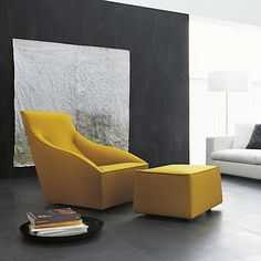 Fancy - Doda Armchair by Molteni & C- Love these colors together!!