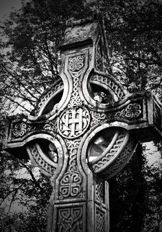 Celtic Cross Detail Killarney Ireland Photograph - Celtic Cross Detail Killarney Ireland Fine Art Print