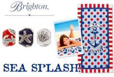DATES: May 24 - June 9   Receive this exclusive Brighton Sea Splash Beach Towel absolutely FREE with a single same day Brighton purchase of $100.00 at The Thoughtfulness Shop in Woodstock, IL.  Add a little splash to your bach wardrobe! (Limit one per customer, while supplies last. Purchase total includes merchandise only. Gift Cards and sales tax not included.)