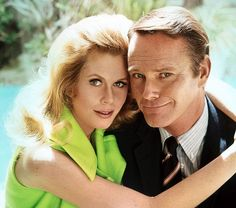 Elizabeth Montgomery & Dick Sargent...classic Elizabeth never once made him feel different from anyone else for being who he truly was~love her <3