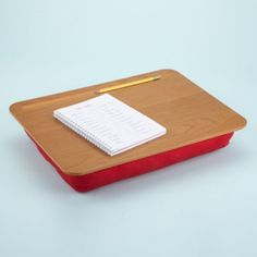 Lap Desk - I like the addition of the pencil well