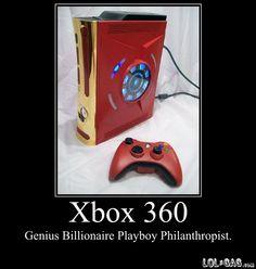 Tony Stark Xbox