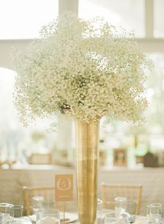 Wedding Flowers: Baby's Breath Possibilities Beyond the Filler Flower – Part 1