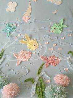 Small Crib, Felt Fish, Sewing Crafts, Diy Crafts, Cot Sheets, Baby Boy Quilts, Felt Decorations, Baby Sewing, Easy Crochet