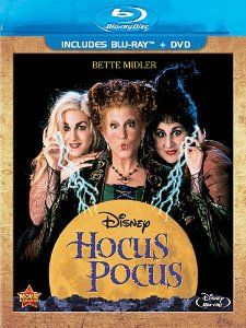 Hocus Pocus on DVD from Disney / Buena Vista. Directed by Kenny Ortega. Staring Bette Midler, Sarah Jessica Parker, Kathy Najimy and Vinessa Shaw. More Comedy, Fantasy and Witches DVDs available @ DVD Empire. Película Hocus Pocus, Hocus Pocus 1993, Hocus Pocus Movie, Hocus Pocus Witches, Disney Halloween, Best Halloween Movies, Halloween Horror, Halloween Costumes, Disney Films