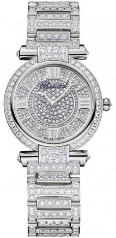 Chopard Imperiale Quartz 28mm Ladies Watch 18kt white gold and Diamonds