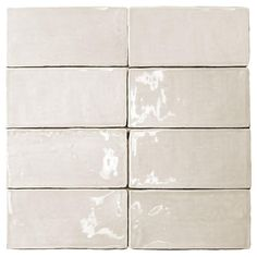 Splashback Tile Catalina Vanilla 3 in. x 6 in. x 8 mm Ceramic and Wall Subway Tile