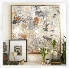 Artist (and Designer) Crush: William McLure (elements of style) Brown Art, Elements Of Style, Contemporary Home Decor, Hanging Art, Installation Art, Art Installations, Lovers Art, Vignettes, Bunt