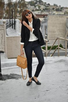 i like this combination, and i have that same coach bag!