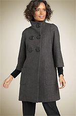 Выкройка женского пальто. Шьем своими руками женское пальто