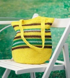 Summer Crocheted Tote, yay summer's here! Thanks so  for FREE pattern, yum xox